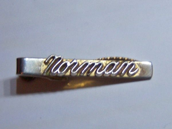 Men's Accessories. Norman Tie Clip.