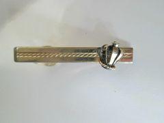 Vintage Tie Clip With Crown