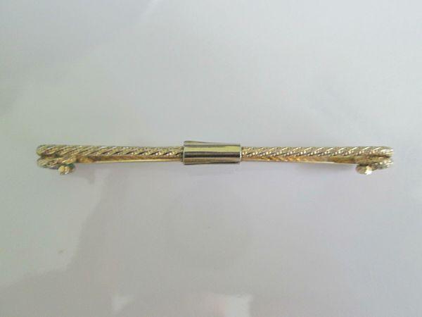 Vintage Collar Clip. Banded Design Collar Clip.