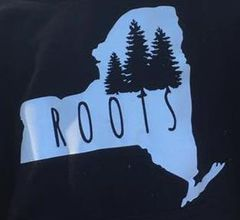 "Unisex fit ""roots"" tee pre order"