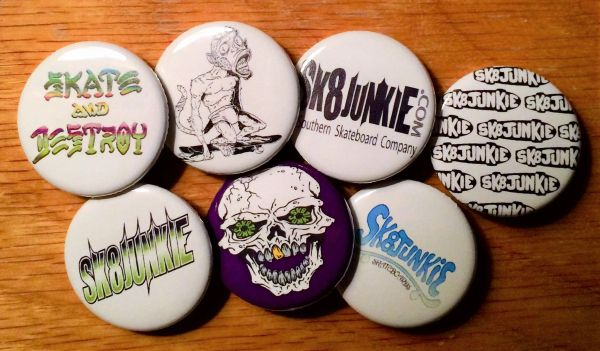 Sk8junkie Button Pack