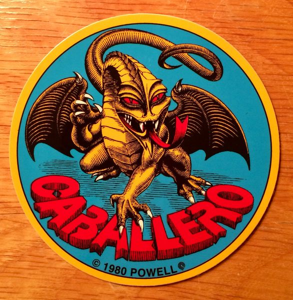 Powell Peralta Skateboards Cab Dragon Sticker