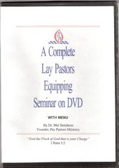 Lay Pastors Equipping Seminar on DVD