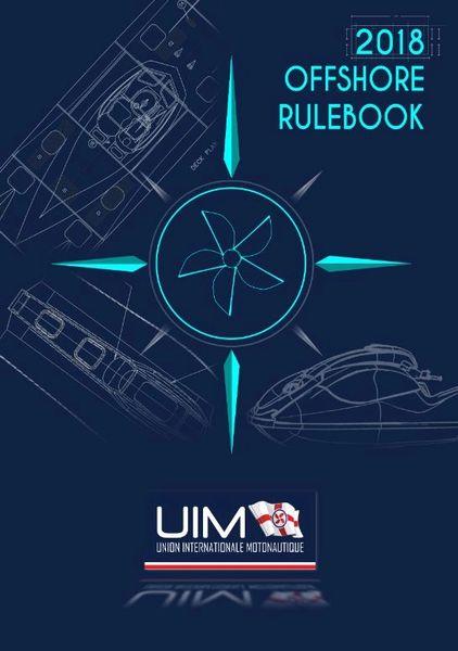 2019 UIM Rule books - Printed Version