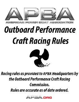 OPC Racing Rules