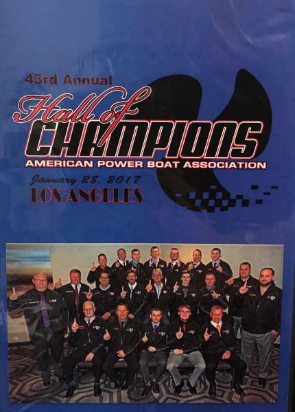 2016 APBA Hall of Champions DVD
