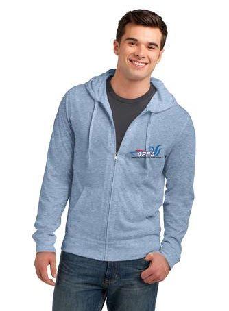 Lightweight Jersey Full-Zip Hoodie