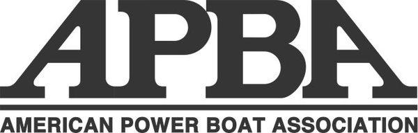 APBA Boat Decal