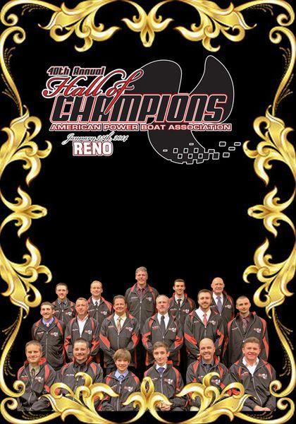 2013 APBA Hall of Champions DVD