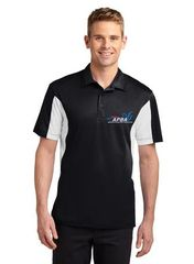 Side Blocked Micropique Sport-Wick® Polo-embroidered