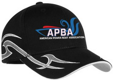 APBA Racing Hat with Sickle Flames-embroidered