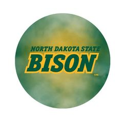 NDSU Bison Fog 2 Pewter Key Chain or Money Clip