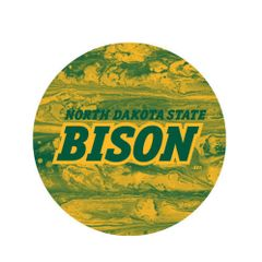 NDSU Bison Concrete 1 Pewter Key Chain or Money Clip