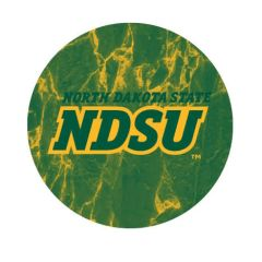 NDSU Marble 1 Pewter Key Chain or Money Clip