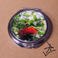 Round Small Postman Butterfly Compact