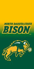 NDSU Bison & Body Gradient 2 Phone Case Dauphin™ Hard Rubber Phone Case
