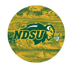 NDSU Primary Concrete 1 Round Ring Stand™ Phone Holder