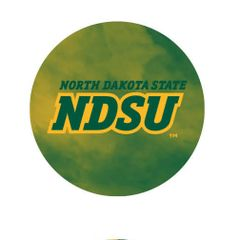 NDSU Fog 3 Pewter Key Chain or Money Clip
