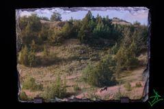 "7.5"" x 5.5"" Granite's Boy Landscape 1 Slate"