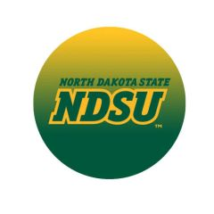 NDSU Gradient 1 Pewter Key Chain or Money Clip