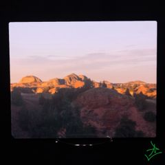 "8"" x 10"" Badlands Landscape 1 Aluminum"