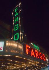 "8"" X 11"" Fargo Theater #2 Glass Cutting Board"