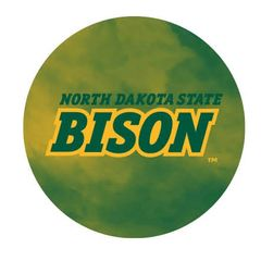 NDSU Bison Fog 3 Pewter Key Chain or Money Clip