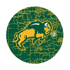 NDSU Body Cracks 1 Pewter Key Chain or Money Clip