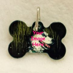 Custom Bone Shaped Pet Tag