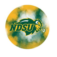 NDSU Primary Clouds 2 Pewter Key Chain or Money Clip