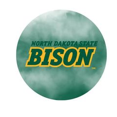 NDSU Bison Fog 1 Pewter Key Chain or Money Clip