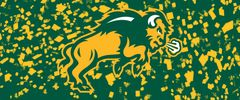 NDSU Body Logo on Confetti 2 Rectangle Ring Stand™ Phone Holder