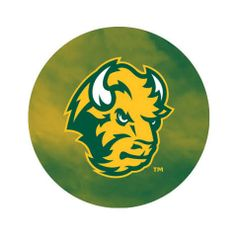 NDSU Head Fog 3 Pewter Key Chain or Money Clip