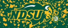 NDSU Primary Logo on Confetti 1 Rectangle Ring Stand™ Phone Holder