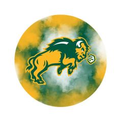 NDSU Body Clouds 2 Pewter Key Chain or Money Clip