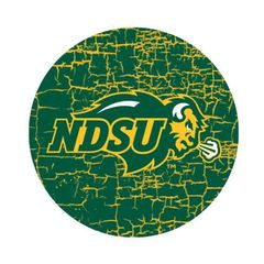 NDSU Primary Cracks 1 Round Ring Stand™ Phone Holder