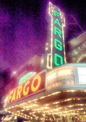"8"" X 11"" Fargo Theater #1HDR Glass Cutting Board"