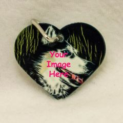 Custom Heart Shaped Pet Tag