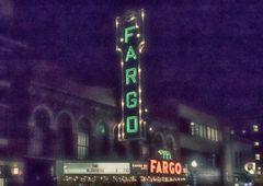 "8"" X 11"" Fargo Theater #3HDR Glass Cutting Board"