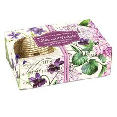 Boxed Single Soap - Lilac & Violets