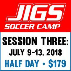 Session THREE: July 9-13, 2018 - HALF Day
