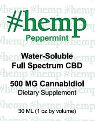 Natural Blend: Peppermint Flavor CBD