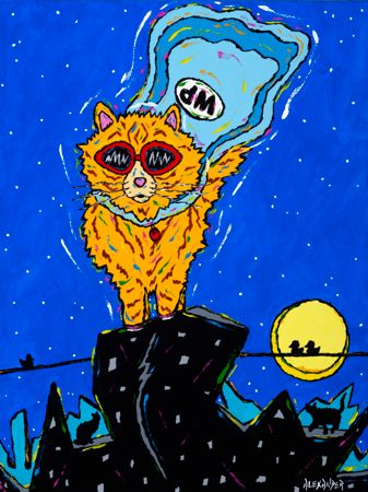Wonder Puss - Cat Orange Tabby