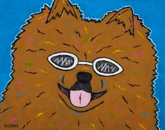 Gotta Wear Shades - Pomeranian