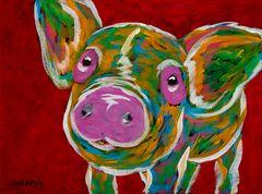 Happy Little Pig - Pig