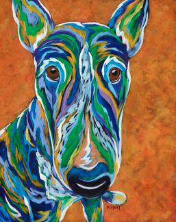 I'm Serious - Bull Terrier