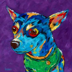 Small But Mighty - Chihuahua (purple)