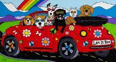 Let It Bee - Beagle, Bulldog, Great Dane, Chihuahua, Labrador, Dachshund, Golden Retriever, West Highland Terrier