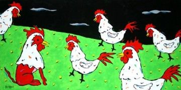 In-Cock-Nito - Chickens Rooster