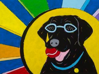 You Are My Sunshine - Black Labrador Retriever